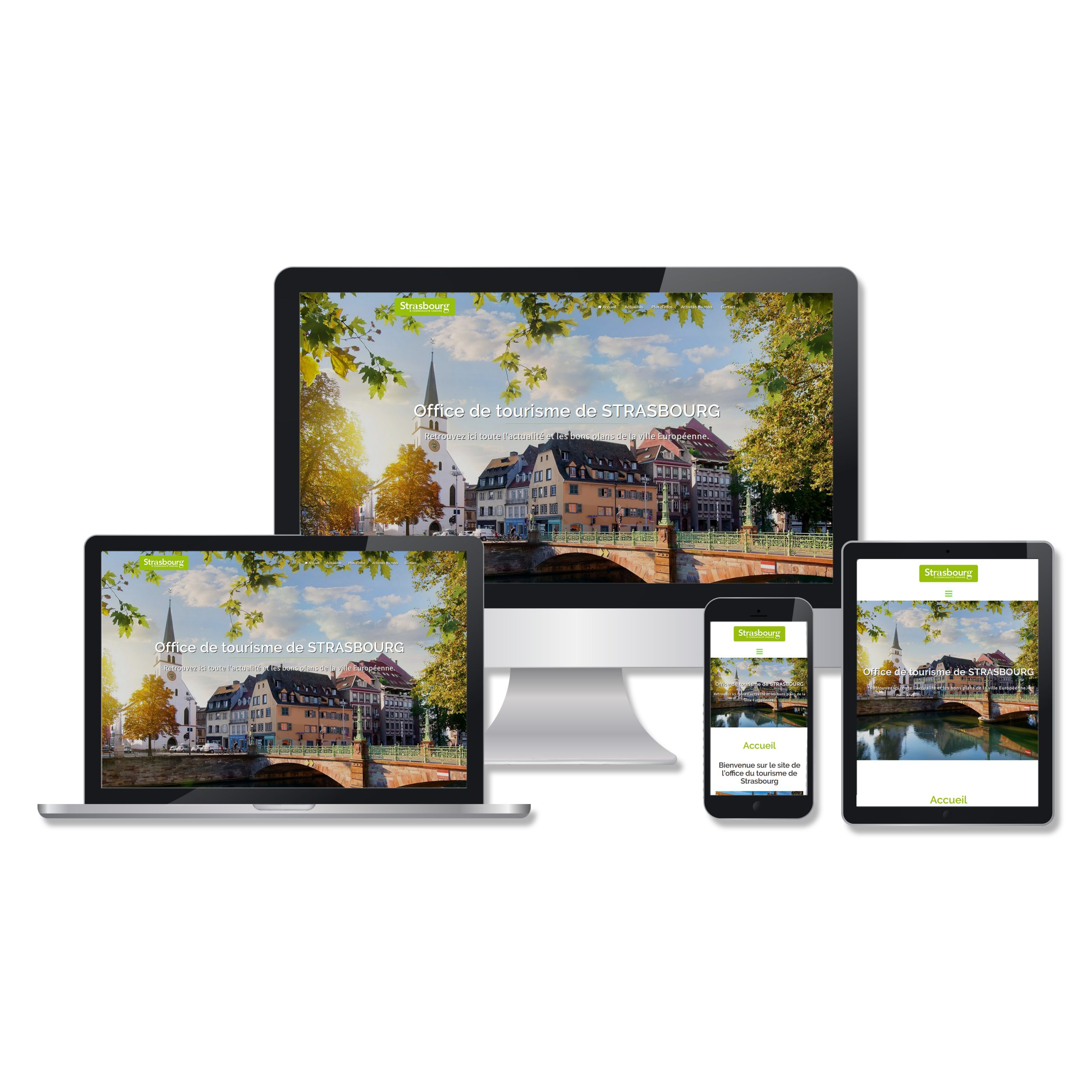 portfolio web UBIK Strasbourg