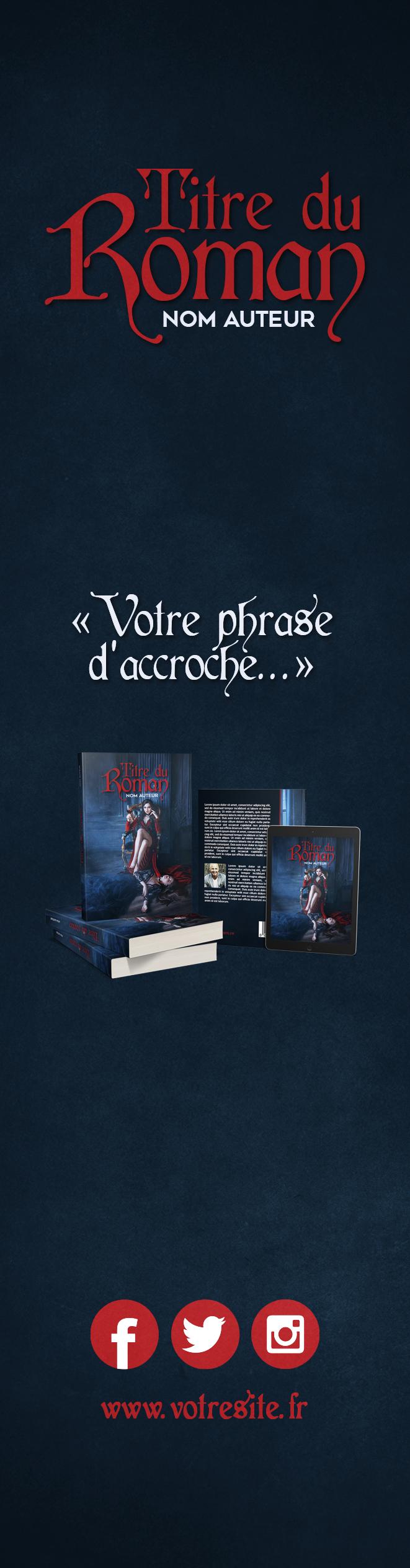 Marque page 2 Vampire